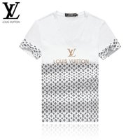 Wholesale clothing canada for sale - Group buy 2019 Summer New Canada Print T Shirt Men Slim Fit Fashion Cotton Vintage T Shirts High Quality Brand Clothing w64