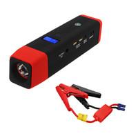 аккумуляторная батарея 12v оптовых-JX26 20000 мАч 12 В Автомобильный Jump Starter Pack Зарядное устройство Аккумулятор Power Bank Kit Dual USB Многофункциональный аварийный банк питания