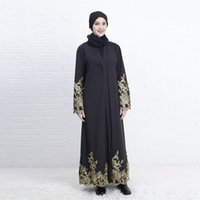 исламские платья хиджаб оптовых-black abayas muslim dress dubai Muslim Abaya Dress Cardigan Robe Turkish Hijab Islamic Prayer Clothing caftan turkey#G9+1