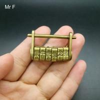 ingrosso antichi giocattoli cinesi-Regalo del capretto Retro Style Cultura cinese antico codice zodiacale Mini giocattolo del bavaglio di blocco