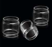 mini tanque de humo al por mayor-Bombilla extendida tubo de vidrio convexo burbuja de reemplazo de chico gordo para Smok Stick M17 Brit Mini sabor Minos Sub Tank 25mm kit atomizador