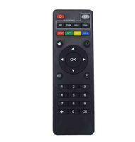 transmisor de 9v receptor al por mayor-Control remoto IR universal para Android TV Box H96 max / V88 / MXQ / T95Z Plus / TX3 X96 mini / H96 mini controlador remoto de reemplazo LLFA