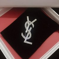 ilham veren gümüş toptan satış-Tasarımcı Oyunları Broş Ilham Ve Kadınlar için Broş Pins Gümüş Takı Bırak Nakliye