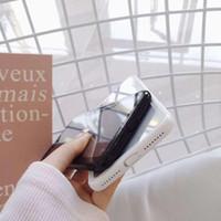 akrilik tasarımlar toptan satış-VIP müşteri için özel bağlantı 2 1 Akrilik Yumuşak Temizle Vakalar IPhone X 8 7 Artı 6 S Cradle Cradle Tasarım Için