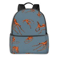 Wholesale cool fashion school bags for sale - Group buy NOISYDESIGNS Fashion Men Women s Backpacks Animals Tiger Printing Travel Package Bag School Backpack Cool Mochila Escolar