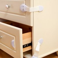 Wholesale cupboard safety locks for sale - Group buy 5Pcs Baby Safety Child Lock Plastic Drawer Door Cabinet Cupboard Safety Locks Protection from Children Baby Care