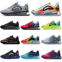 zapatillas de gimnasia para mujer al por mayor-2019 nike air max 720 zapatillas deportivas para hombre mujer Be True Pride Volt Gym rojo SEA FOREST zapatillas de deporte para hombre zapatillas deportivas para correr