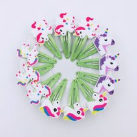 Wholesale plastic hair clips for kids for sale - Group buy Girls Glitter Unicorn Hairclips Cartoon Animal Hair Clips Cute Plastic Hairpins Kids Headwear Hair Accessories for Girls