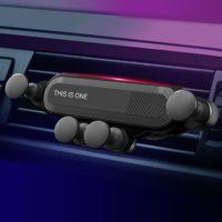 telefones celulares carros venda por atacado-ZZYD Gravidade Car Phone Holder Anti Deslizamento No Telefone Celular Noise Mount Compatível com Telefones Universal