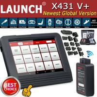 x431 bmw venda por atacado-LANÇAMENTO X431 V + PRO PROS Ferramenta de Diagnóstico Auto Scanner OBD2 EOBD KEY Codificação ECU