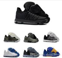 ingrosso kd scarpe uomo pasquale-Scarpe da pallacanestro Kd 10 nuove Uomo Uomo Scarpe da tennis Kevin Durant Homme Blue Bm 10 X 9 Elite Floral Perle da sposa