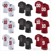Wholesale Custom Mens Youth Alabama Crimson Tide Any Name Any Number Personalized Kids Man Home Away NCAA College Football Jerseys