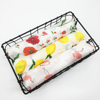 Wholesale baby beds for sale - baby cotton blanket Flamingo Rose Space Print Baby Blankets Bedding Infant Swaddle Towel For Newborns Swaddle Blanket cm KKA6920