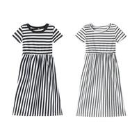 maxi elbise plaj kızları toptan satış-Perakende bebek kız elbiseler Çocuk Pamuk Şerit Prenses gelinlik Modelleri çocuklar giysi tasarımcısı kızlar Rahat plaj artı boyutu uzun maksi elbiseler