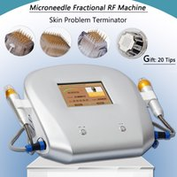 Wholesale korea roller needle for sale - Group buy Micro needling RF high frequency machine microneedle face anti aging roller fractional rf korea beauty machine