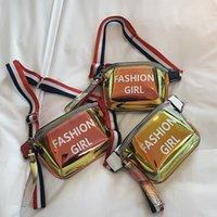 bolsos de moda de la bolsa de la cintura al por mayor-Carta bolso de la cintura con láser bolsa de hombro en el pecho bolso del teléfono bolso corossbody cinturón ajustable con cinturón de moda bolso de la señora de la manera paquete de la fiesta FFA2064