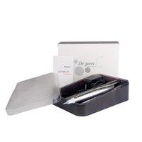 maquillaje digital permanente agujas al por mayor-Envío de la gota de aprobación CE micro-aguja A3 digital eléctrico Dermapen de alta velocidad / maquillaje permanente máquina de la belleza de la pluma dermis