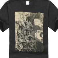 camiseta nueva imagen de diseño al por mayor-Diseños personalizados Camisetas Radiohead Imagen del garabato Marfil Camiseta blanca Nuevo Adulto Oficial Residuos Jóvenes