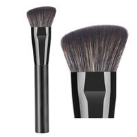 Wholesale sculpting hair brush resale online - Professional Contour Makeup Brush Anlged Flat Contouring Sculpting Powder Foundation Primer Base Bronzer Highlighter Shadow Make up Brush