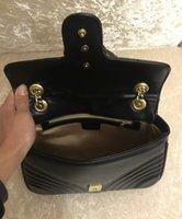 ücretsiz gönderim akşam poşetleri toptan satış-Tasarımcı 443497 kadınlar klasik deri omuz çantaları moda marka yeni akşam çapraz vücut çanta çanta 476433 ücretsiz kargo