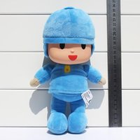 Wholesale 10 cm Cute Pocoyo Elly Pato Plush Stuffed Doll Toys Good for Children Kid Gifts