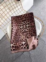 Wholesale furs scarf for sale - Group buy 2019 Designer Silk Scarf Women Luxury Scarf Letter Women Spring Summer Autumn Thin Scarves Wraps Size x70cm Leopard Grain Scarves