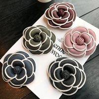 böhmische vintage-pins großhandel-Klassischen Stil Frauen Broschen Vintage Kamelie Party Pins für Geschenk Hochzeit Braut Broschen Böhmischen Stil Boutonniere