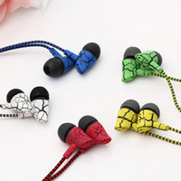 Wholesale mobile hand free earphone online – Wired Headphones Super Bass mm Earphone Earbud with Microphone Hands Free Headset For iphone s xiaomi for Mobile phone