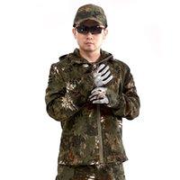 tenue de combat achat en gros de-Vends bien à l'extérieur Crotale Python Camouflage La Robe De Bataille Travail Spécial Bras 3 Couleur Veste Mâle Seul Papier Hommes