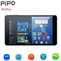 Wholesale windows tablet for sale - Pipo W2PRO Tablets IPS Screen Windows Intel Cherry Trail Z8350 Quad Core GB RAM GB ROM Dual Cam Wifi Tablets PC