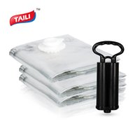 Wholesale toy comforters resale online - 3 Vacuum Bag for Clothes with Pump Space Saver Bag Organizer for Comforter Blankets Clothes Plush Toys