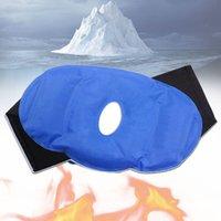 ingrosso patch caldo di ghiaccio-Ice Therapy Wrap Pain Relief Surgery Sport Lesioni Regolabile riutilizzabile Knee Patch caldo e freddo Gel Pack traspirante