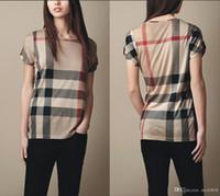 camiseta de seda crepé al por mayor-Polos para mujer moda casual camisa polo para mujer camisa polo 8 colores s-XL Camisetas blusa Mujer camiseta B011