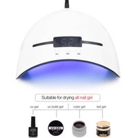 lâmpadas de cura portáteis uv venda por atacado-Secador UV do prego da lâmpada 36W para todos os tipos Gel 12 Leds Lâmpada UV para a máquina do prego que cura 30s 60s 90s temporizador USB portátil UV prego lâmpadas RRA853