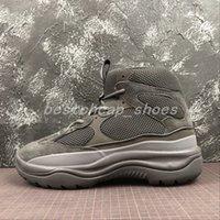 botas estilos homens venda por atacado-New Season 6 Desert Rat Bota 6s grafite preto estilo militar Chunky Homens Seankers Running Shoes formadores chaussures Mens botas de grife