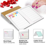 Wholesale color tips for nails resale online - 160 Nail Color Display Book With False Nail Tips For DIY Polish UV Gel Color Card Board Nail Salon Tools