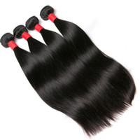 bakire saç şirketleri toptan satış-Işlenmemiş bakire Malaya saç saç 8A düz 4 adet lot hiçbir Mocha saç şirketi gelen Malezya düz genesis saç dökmek 4,5 adet / grup cmq22