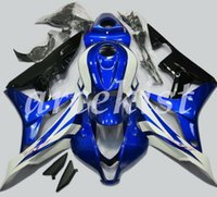 Wholesale blue motorcycle fairing for sale - Group buy 4 Free Gifts Custom Injection Mold New ABS Motorcycle Fairings Kits Fit for HONDA CBR600RR F5 cbr600 rr Black And Blue