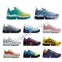 High quality TN Plus Running Shoes for Men 95 air 85 Volt Rainbow Grape Bleached Aqua Designer Triple Black Trainer Women Sport Sneakers