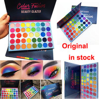 Wholesale luminous rainbow for sale - Group buy Newest Beauty Glazed Eyeshadow Palette Colors Eye Shadow Color Fusion Rainbow palette Matte Shimmer makeup eyeshadow Face Highlighter