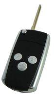chave remota yaris venda por atacado-KL118 3 Botões de Substituição de Armação de Metal Modificado Virar Dobrável Caso Chave Do Carro Remoto Para Toyota Camry Corolla Prado RAV4 Hilux Yaris