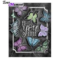 ingrosso lavagna a farfalla-vendita all'ingrosso farfalla lettere a farfalla pittura diamante pieno trapano quadro quadrato immagine mosaico punto croce S2F1351