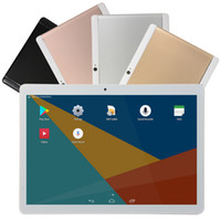 tablet usb otg sim großhandel-10,1 Zoll MTK6580 Quad Core Tablet 1 GB RAM 16 GB Rom 4000 Batterie 3G Frequenz Pad Bunte wcdma 3g