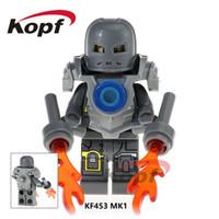 guardiões filme galáxia venda por atacado-Marvel Super Heroes Infinito Guerra Guardiões da Galáxia Vingadores Filmes Videogames Blocos de Brinquedos Figuras Kopf Blocos KF453
