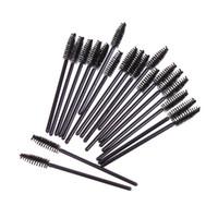 cosmétiques jetables achat en gros de-Extension de cils jetables de brosse à sourcils applicateur de baguette d'applicateur spoolers de cils de cils cosmétiques brosses outils de maquillage 10000pcs / set RRA1172