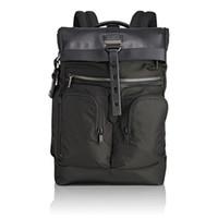 iş adamı için sırt çantası toptan satış-Yüksek Kaliteli TUMI Balistik Naylon 232388 Erkekler Iş Rahat Büyük Kapasiteli Sırt Çantası Laptop Çantası Siyah Mavi Mix Yolu İş Rahat moda