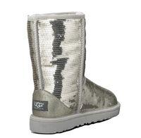bottes de neige élégantes achat en gros de-Bottes d'hiver de neige pour femmes australiennes chaudes bottes en peau de mouton chaudes bottes les femmes les plus élégantes dans les bottes