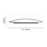 toque sem fio do bluetooth do mouse venda por atacado-USB Bluetooth Mouse Ultra Fino 2.4G Mini Mouse Sem Fio Touch Magic Mouse Receiver para Apple e Outros com Caixa de Varejo