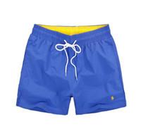 ropa caja secadora al por mayor-2019 Pantalones cortos de diseñador de moda para hombre Pantalones cortos de verano para hombre Deporte Estilo de ocio Playa Surf Pantalones cortos de natación Pantalones cortos