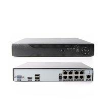 http dns оптовых-8-канальный сетевой видеорегистратор POE (1080p / 3MP / 4MP) POE Сетевой видеорегистратор 48 В